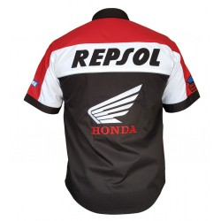 Honda Repsol Motosiklet Gömleği SİYAH